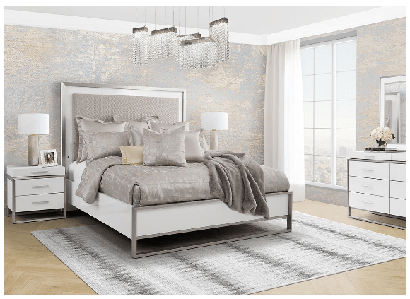 Marquee 8 Pc Queen Bedroom by Michael Amini