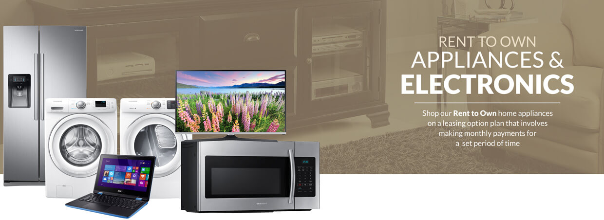 Rent to Own home appliances online Apply for Furniture financing leasing Appliances   Electronics