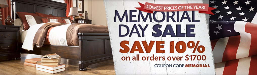 Memorial Day Furniture Sale Save On Ashley Furniture