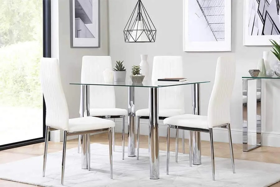 Square Dining Tables & Chairs