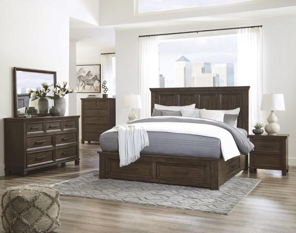 johurst 6 piece king storage bedroom set