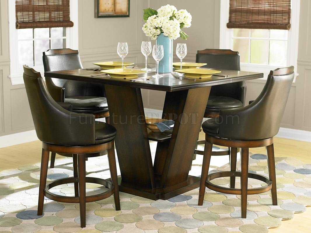 Bayshore 5447-36 Counter Height Dining Table By Homelegance