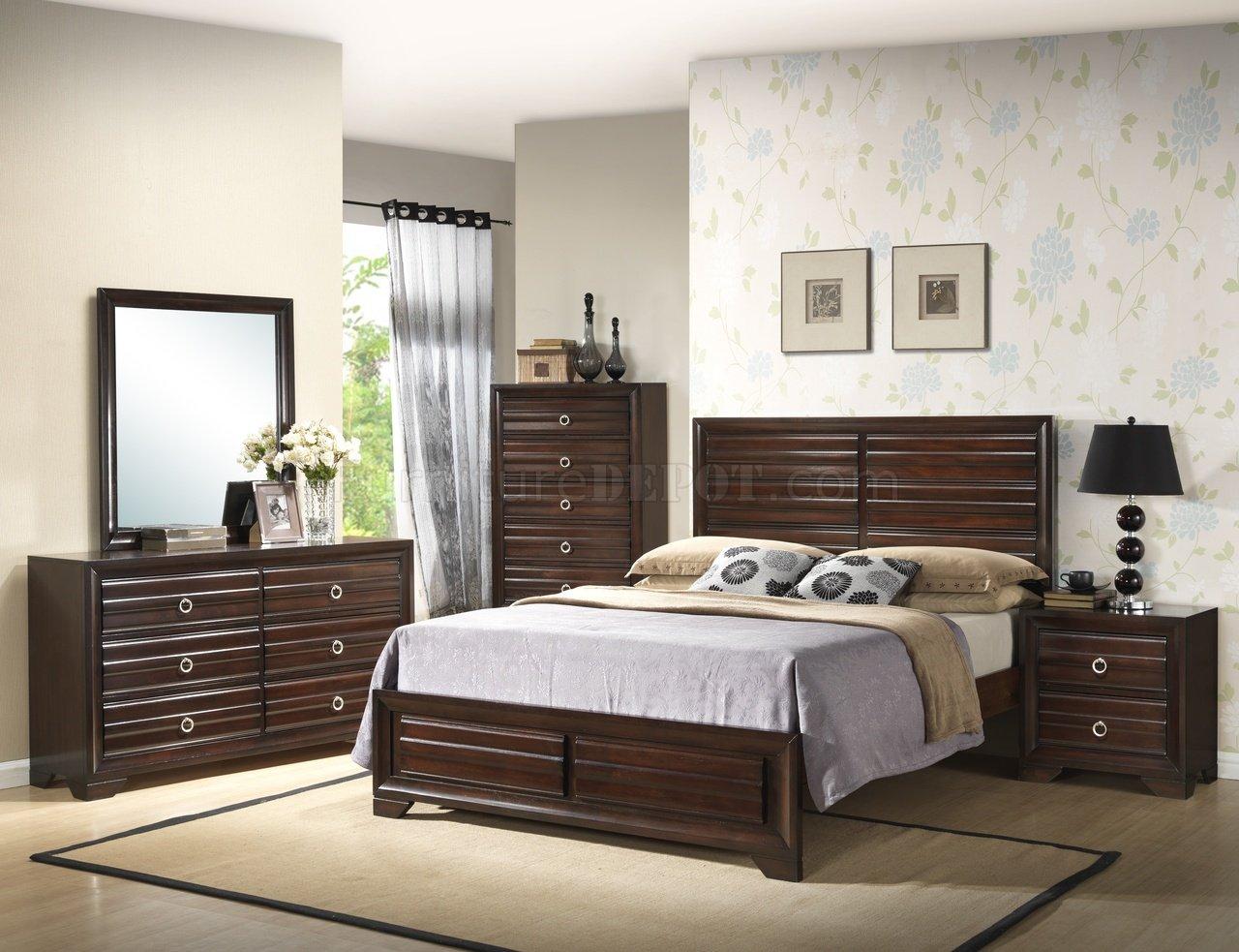 B310 Bedroom Set In Espresso W/Options