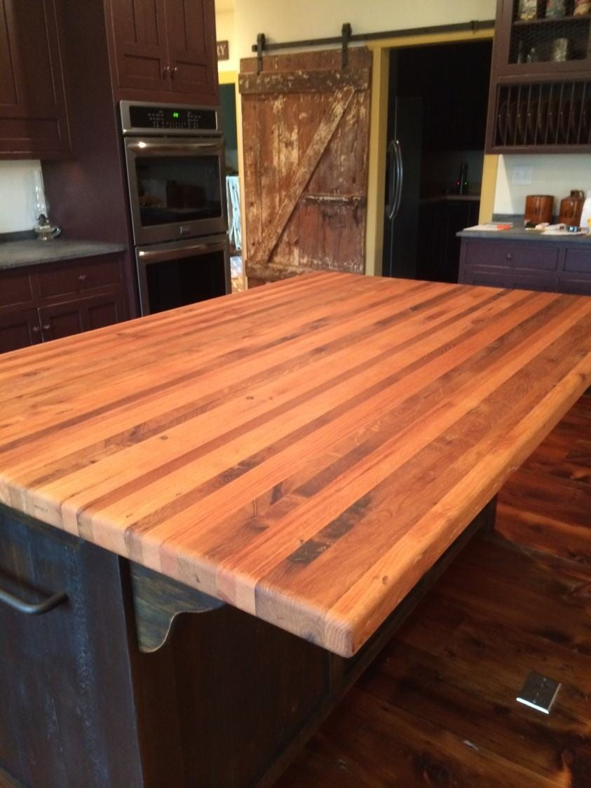 Butcher Block Kitchen Island With Overhang Furniture