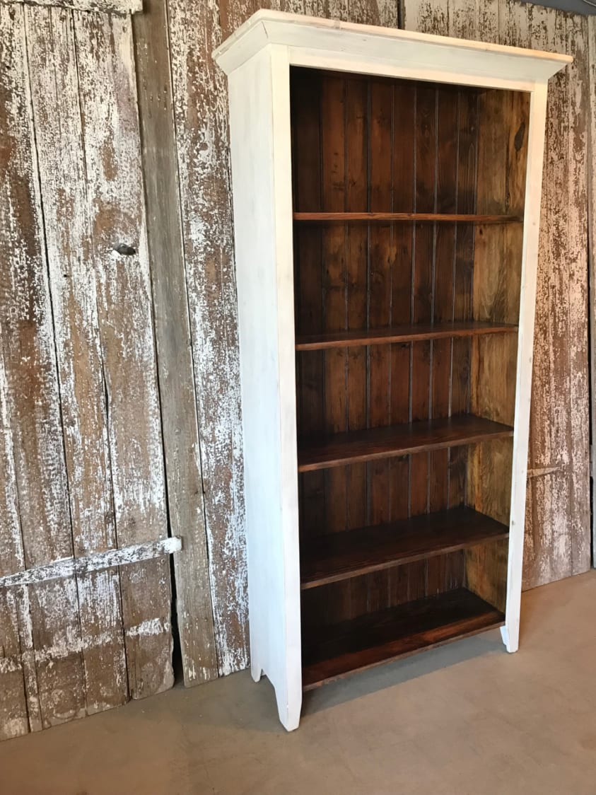 Farmhouse Style Bookcase Furniture From The Barn