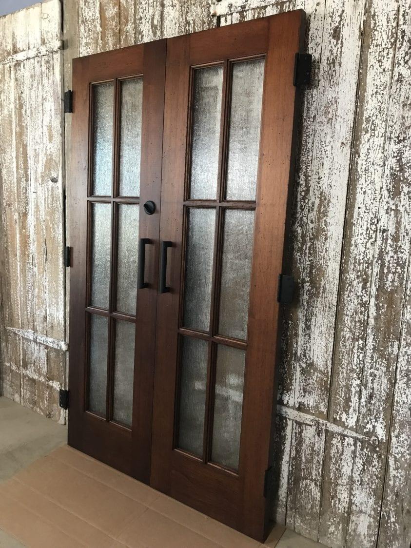Custom Rain Glass Doors Furniture From The Barn