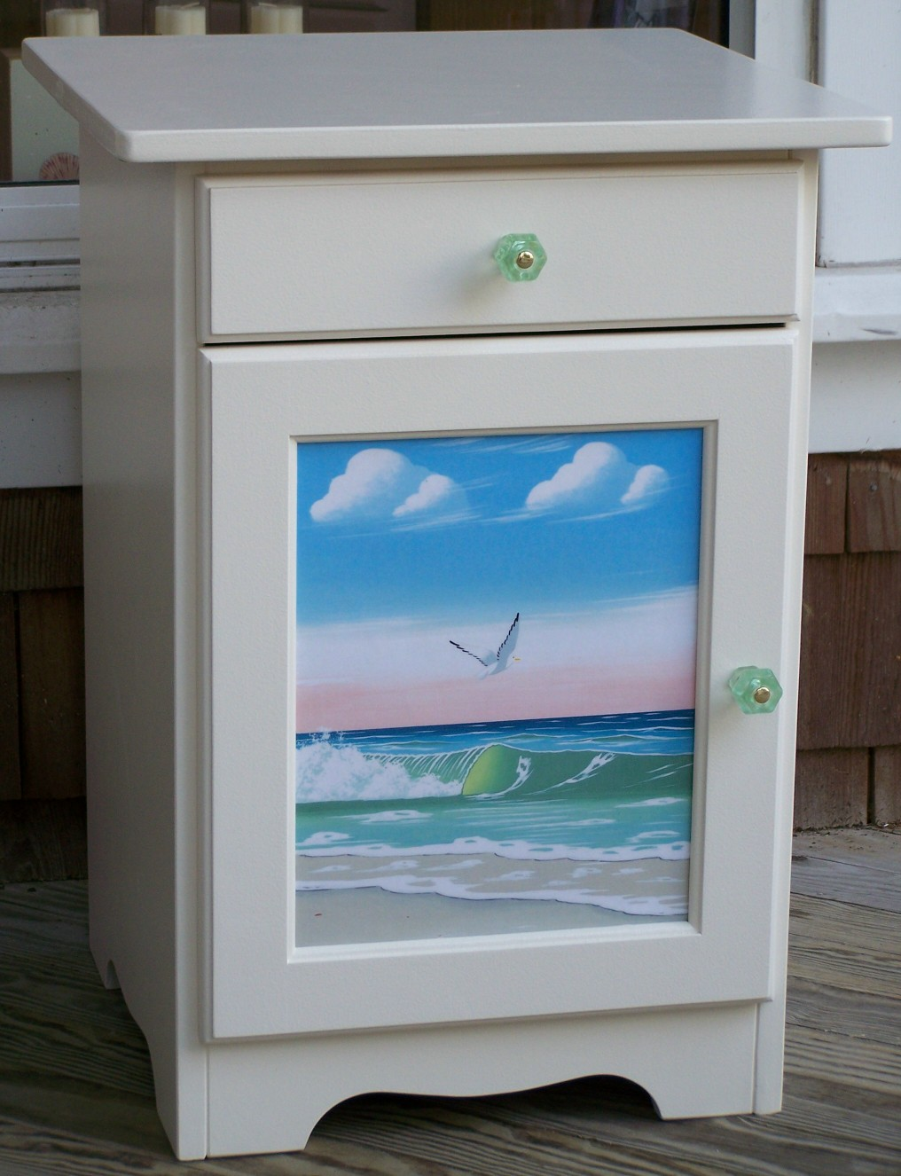 Hand Painted Furniture Coastal Cottage Beach Home Living