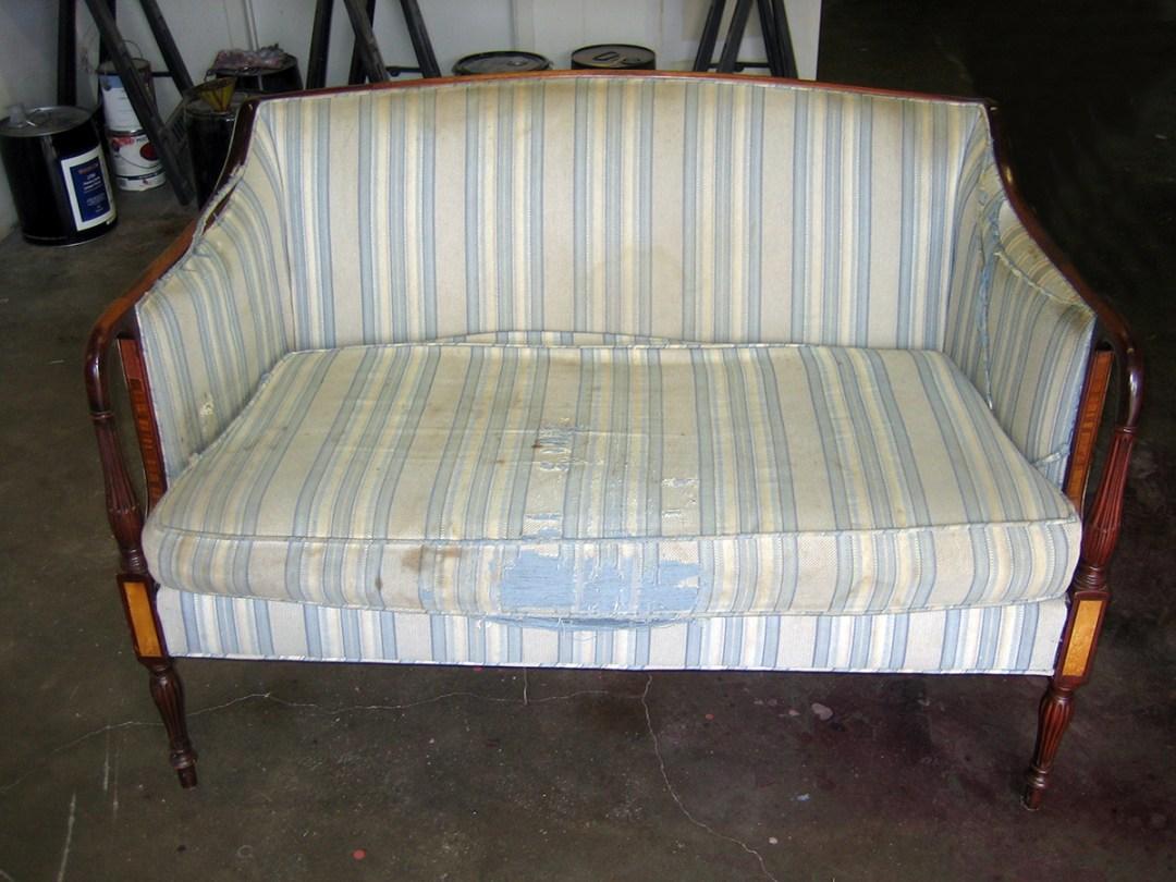 beige sofa-before