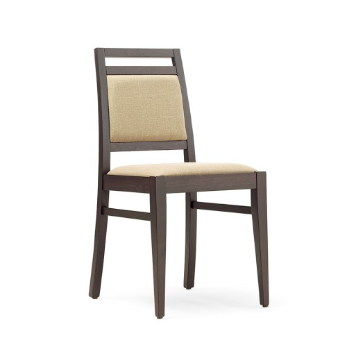 Contract restaurant side chair