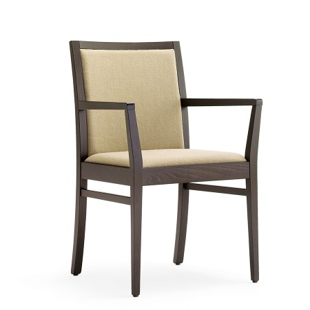 Restaurant lounge arm chair