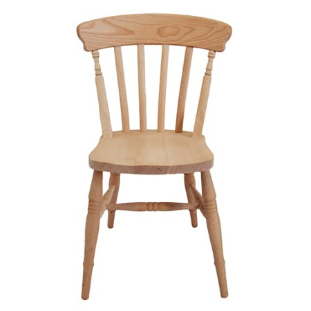 Farmhouse Slat Back Side Chair