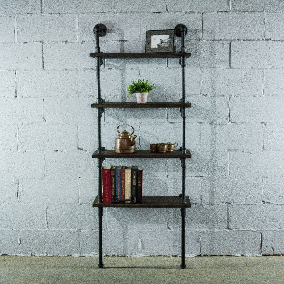 Bookcase Wide Low And