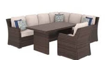 Ashley Furniture P300 Loughran Outdoor Patio Furniture Sectional