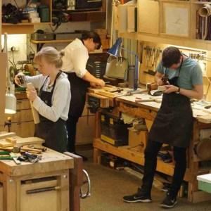 Furniture making class
