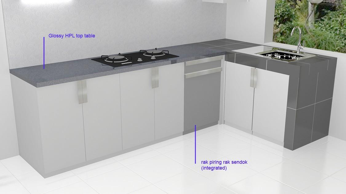 Kitchen Set Anti Rayap Semarang Furniture Semarang