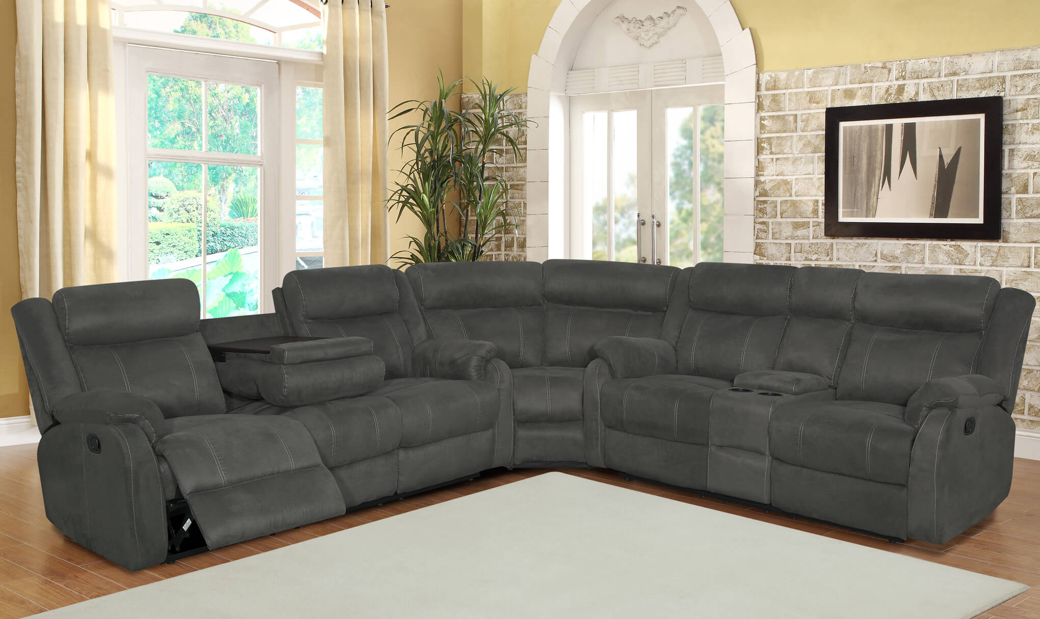 Sectional Reclining Sofa Roselawnlutheran