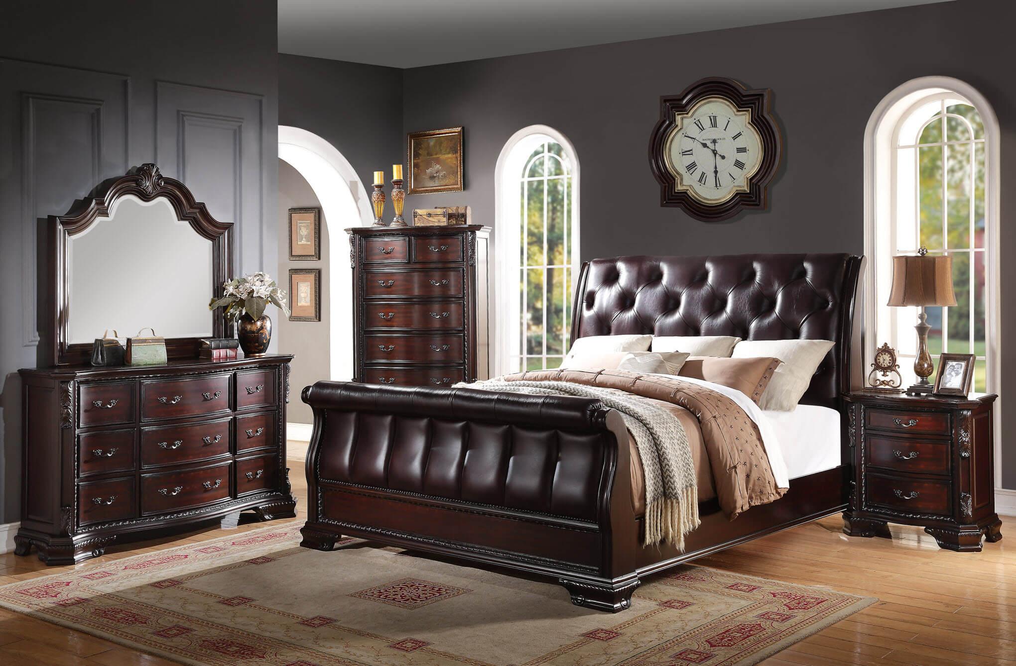 Sheffield Bedroom Set By Crown Mark Bedroom Furniture Sets