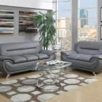 Grey Contemporary Living Room Set Living Room Sets