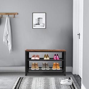 Lykos 3-Tier Side End Table Living Room Nightstand Sofa Metal Frame Storage Shelf