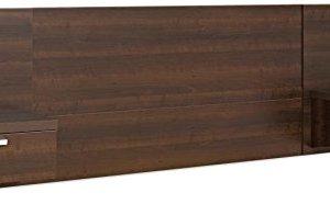 Prepac EHHQ-0520-2K Series 9 Designer Floating Headboard with Nightstands, Queen, Espresso