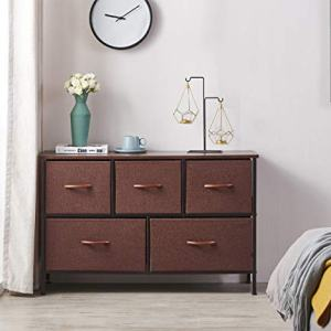 ALLZONE 5 Dressers for Bedroom, Extra Wide Storage Tower Unit for Closets