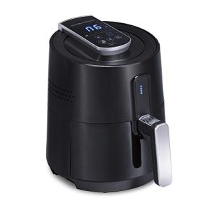Hamilton Beach 2.6 Quart Digital Air Fryer Oven with 6 Presets, Easy to Clean Nonstick Basket, Black (35050)
