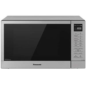Panasonic NN-GN68KS Countertop Microwave Oven with FlashXpress, 3-in-1 Broiler, Food Warmer, Plus Genius Sensor Cooking– 1.1 cu. ft, Stainless Steel/Silver