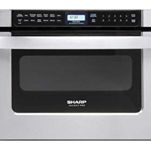 Sharp KB-6524PS 24-Inch Microwave Drawer Oven, 1.2 cu. ft., Stainless Steel