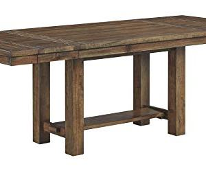 Signature Design by Ashley Dining Room Table, Moriville, Grayish Brown