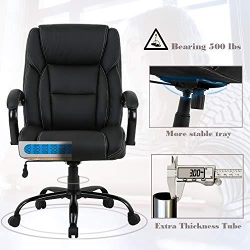 Big and Tall Office Chair 500lbs Desk Chair Ergonomic Computer Chair High Bundle Dimensions: 46.three x 28.three x 31.5 inches