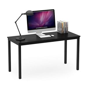 """Teraves Computer Desk/Dining Table Office Desk Sturdy Writing Workstation for Home Office (55.11"""", Black)"""