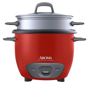 Aroma Housewares 14-Cup (Cooked) (7-Cup UNCOOKED) Pot Style Rice Cooker and Food Steamer (ARC-747-1NGR) (Renewed)