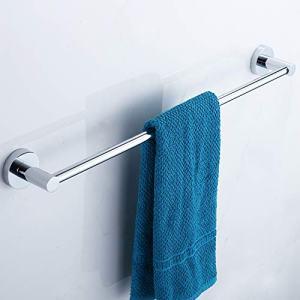 ENJYHZQY Barthroom Towel Bar Towel Holder Stainless Steel,Single Bar 12inch,Single Bar 16inch,Single Bar 20inch,Single Bar 24inch (24inch)