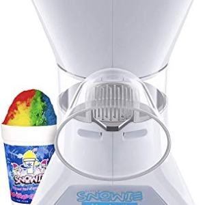Little Snowie Max Snow Cone Machine - Premium Shaved Ice Maker, With Powder Sticks Syrup Mix