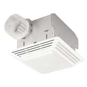 Broan-NuTone 678 Ventilation Fan and Light Combination, 50 CFM 2.5-Sones
