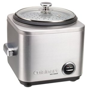 Cuisinart CRC-400 Rice Cooker, 4-Cup, Silver