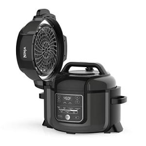 Ninja Foodi 9-in-1 Pressure, Slow Cooker, Air Fryer and More, with 6.5 Quart Capacity and 45 Recipe Book, and a High Gloss Finish
