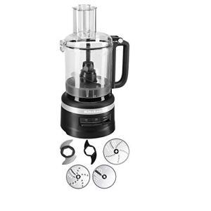 KitchenAid 9-Cup Food Processor Plus | Black Matte (Renewed)