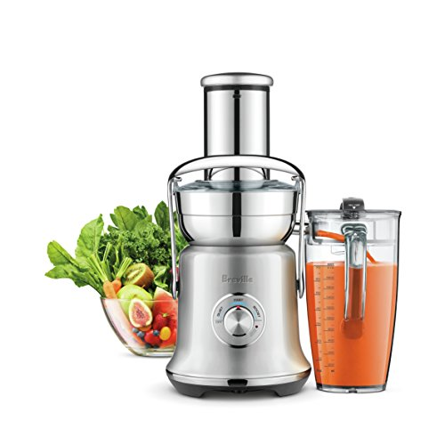 Breville BJE830BSS1BUS1 Juice Founatin Cold XL, Brushed Stainless Steel Centrifugal Juicer