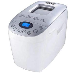 2.2 Lb Bread Maker Automatic Custom Program Multifunctional Bread Machine with 15 Programs, 3 Crust Colors, 13 Hours Delay Timer, 1 Hour Keep Warm, American Plug, English Panel(110V 550W)