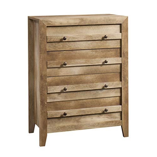 Sauder Dakota Pass 4-Drawer Chest, Craftsman Oak finish
