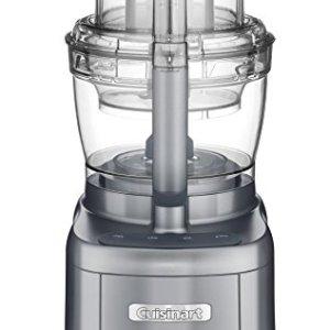 Cuisinart FP-13DGM Elemental 13 Cup Food Processor and Dicing Kit, Gunmetal (Renewed)