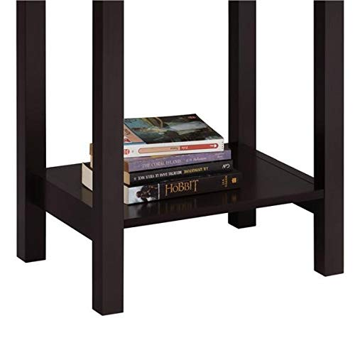 Yaheetech Nightstands Bedside Table Cabinet with Drawer Storage Shelf Package deal Dimensions: 24.zero x 23.6 x 15.eight inches