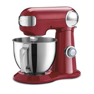 Cuisinart SM-35R Precision Master 3.5 Quart (Ruby Red) stand mixer