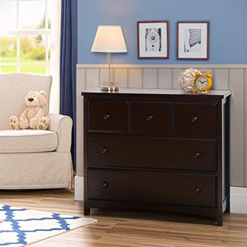 Delta Children 3 Drawer Dresser, Dark Chocolate Launch Date: 2014-06-17T00:00:01Z