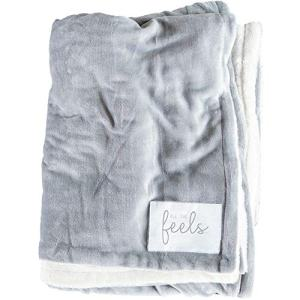 All the Feels Premium Reversible Blanket, Full/Queen, 88x92, Ash Grey Blanket, Super Soft Cozy Blanket