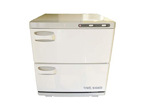 Pantin 32 Liter Capacity Two Door Cabinet Towel Warmer for Hair Salon, Beauty SPA, Restaurant & Home, 110V, 320W