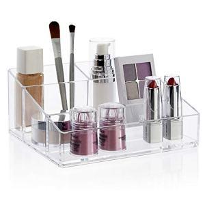 STORi Clear Plastic Vanity Makeup Organizer