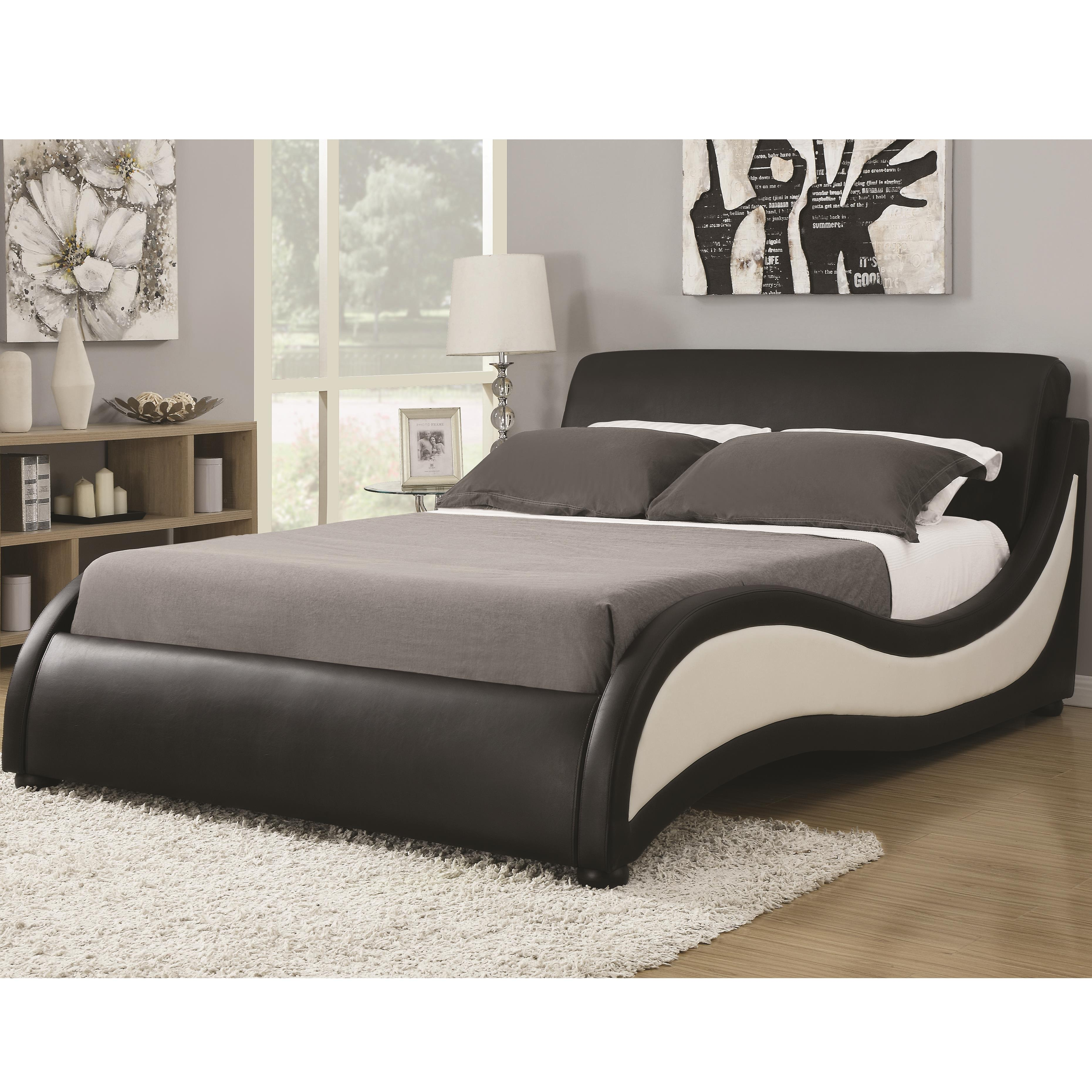 King Niguel Modern Contemporary Platform Upholstered Bed
