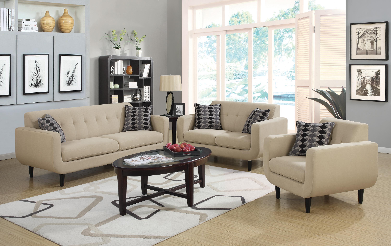 Stansall Mid Century Modern Sofa
